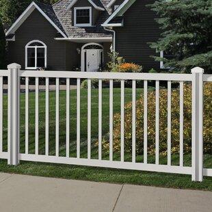 Freestanding Outdoor Fence Wayfair