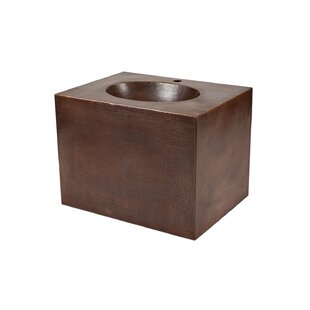 Copper Cove Vanity Wayfair - Metal and wood bathroom vanity