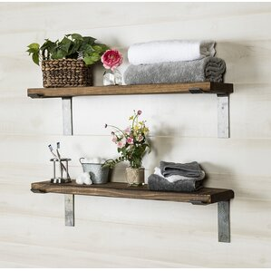 Wall Shelves For Living Room living room wall & display shelves you'll love | wayfair