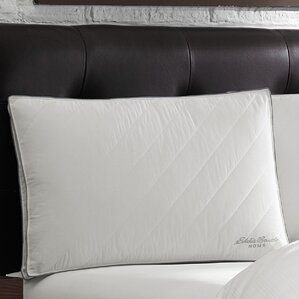 Quilted Jumbo Polyfill Standard Pillow..