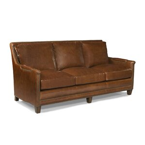 Prescott Leather Sofa by Palatial Furniture