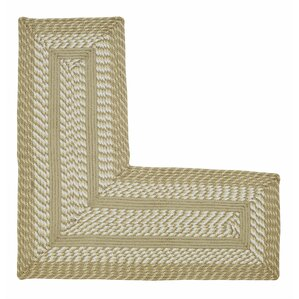 Superior Newport L Shaped Tan Area Rug