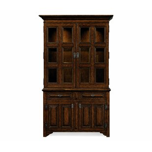 Tudorbethan Lighted China Cabinet