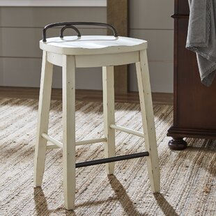 Charmant White Counter Height Bench | Wayfair