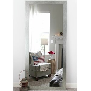 Rectangle Silver Full Length Wall Mirrior