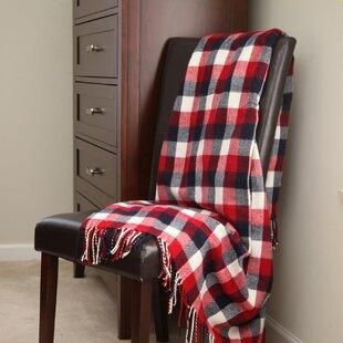 3488f1de95 Holiday Plaid Throw Blanket