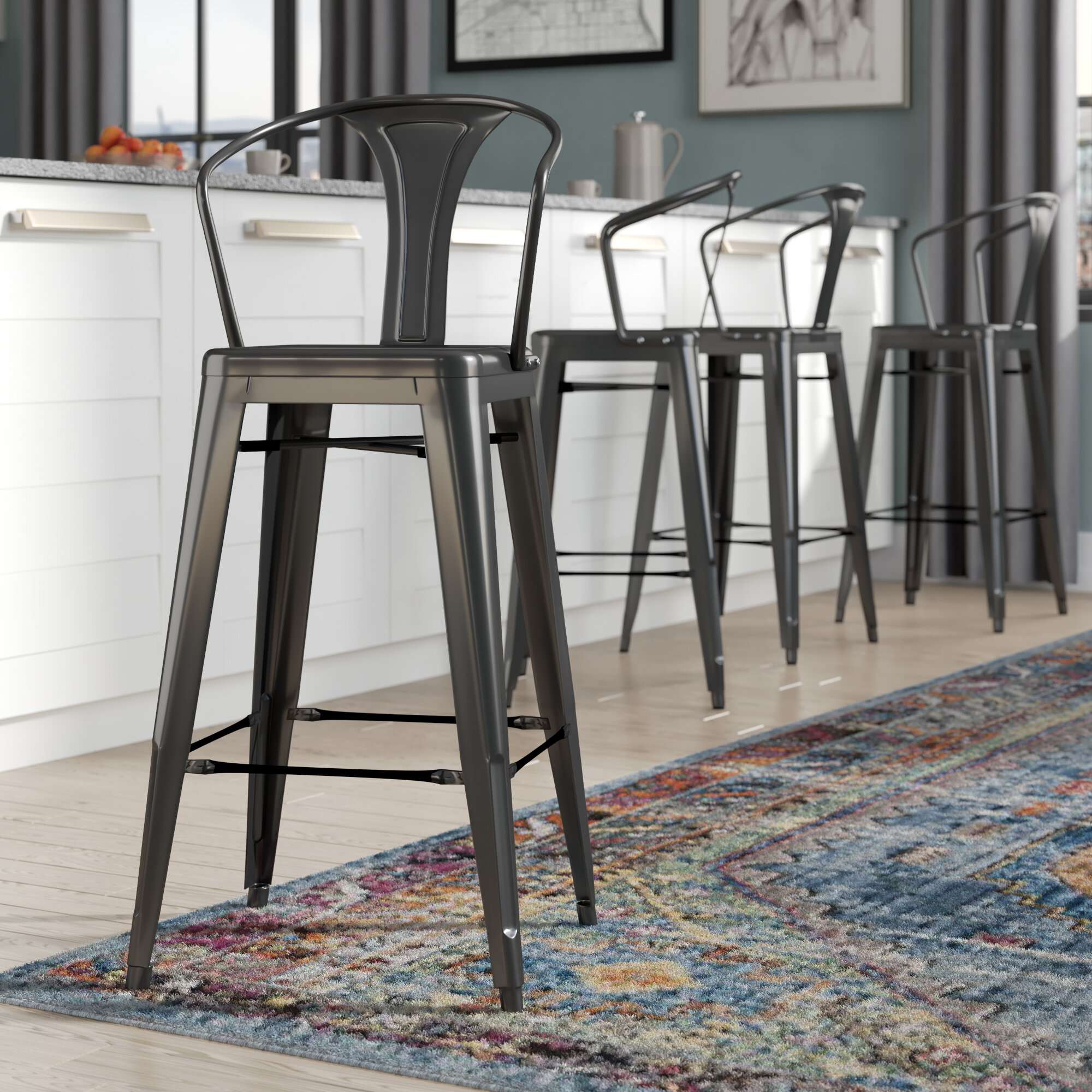 Trent Austin Design Ellery 26 Bar Stool Reviews Wayfair