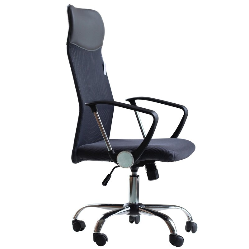 p engineer modern back espresso zuo high chair office