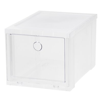 High 6 Pair Stackable Shoe Storage Box (Set Of 6)