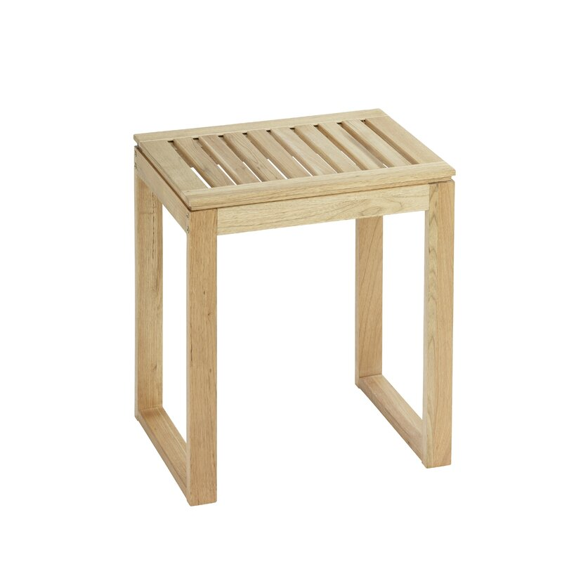 Wenko Badezimmerhocker Norway aus Holz & Bewertungen | Wayfair.de