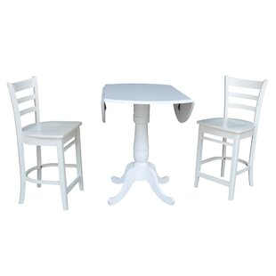 Sakamoto 3 Piece Pub Table Set #1