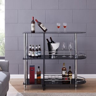Darrel Bar with Wine Storage
