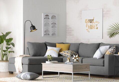 Living Room, Mid-Century Modern Design Ideas | Wayfair