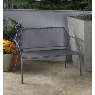 Wrought Iron Garden Bench | Wayfair