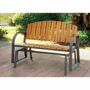 Harley Cast Iron Park Bench