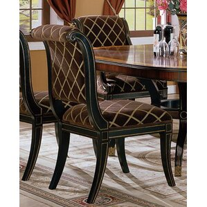 Regency Upholstered Dining Chair (Set of 2) by Eastern Legends