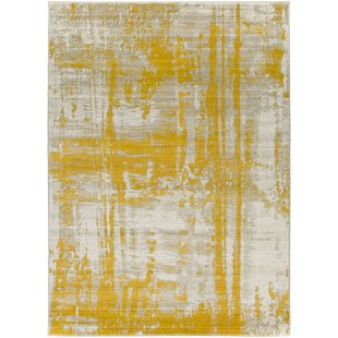 Jivaro Light Gray Gold Area Rug