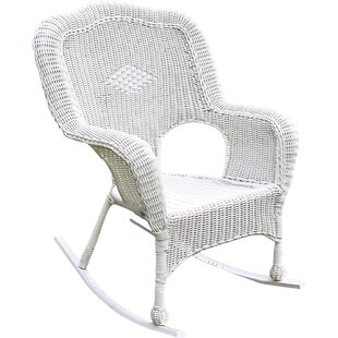 White Resin Rocking Chair Wayfair