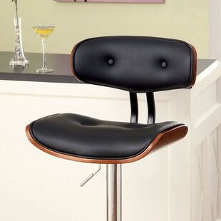 Garvin Adjustable Height Swivel Bar Stool
