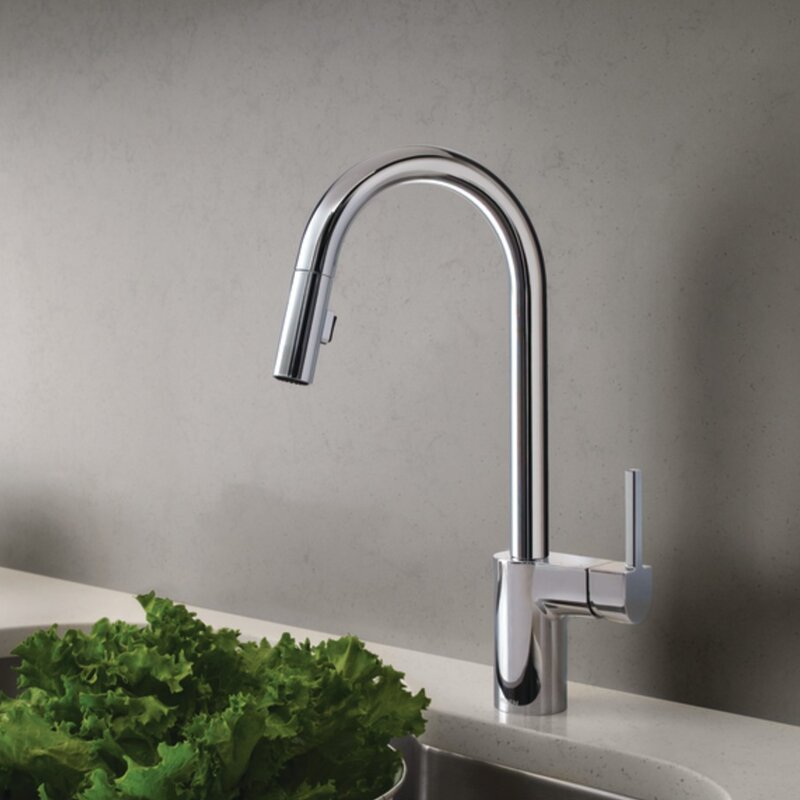 Moen Align Pull Down Single Handle Kitchen Faucet & Reviews | Wayfair