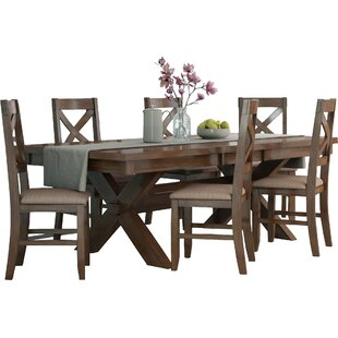ee91fced5 Isabell 7 Piece Solid Wood Dining Set