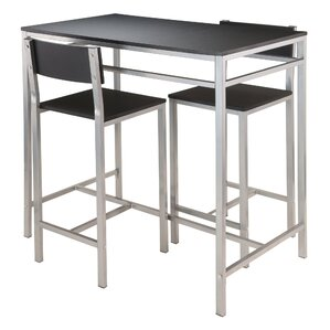 Howard 3 Piece Pub Table Set by Latitude Run