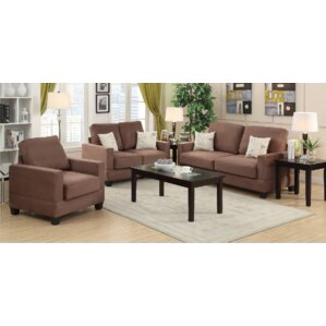 Pandora 3 Piece Living Room Set
