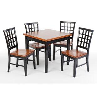 Weisgerber 5 Piece Extendable Dining Set