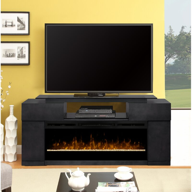 Dimplex Concord Tv Stand For Tvs Up To 70 With Electric Fireplace