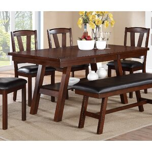 Mackinaw Traditional Dining Table by Andover Mills