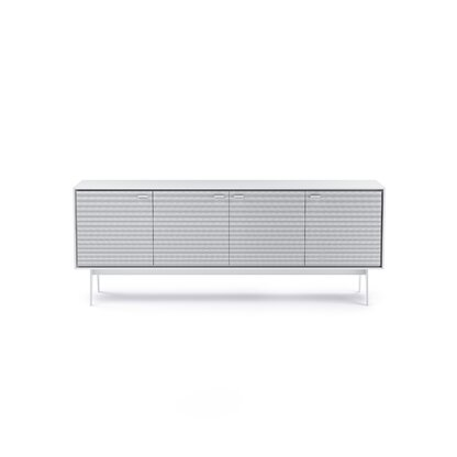 Flo   Quad Cabinet   Smooth Satin White Finish