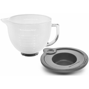 5 Qt. Frosted Glass Bowl for Tilt-Head Stand Mixers