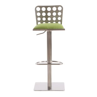 Tuers Adjustable Height Swivel Bar Stool