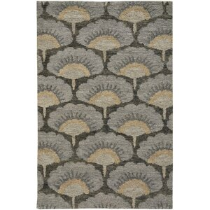 Chappell Hand-Knotted Gray/Beige Area Rug