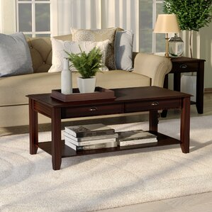 Wilfred Coffee Table by Alcott Hill