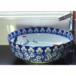Ceramic Circular Vessel Sink