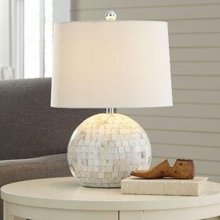 White table lamps youll love wayfair roanoke table lamp aloadofball Gallery