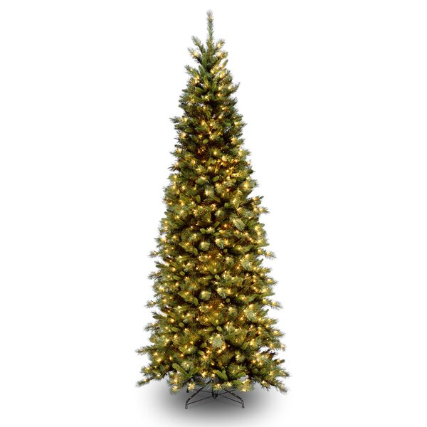 slim christmas trees youll love wayfair - Small Pre Decorated Christmas Trees