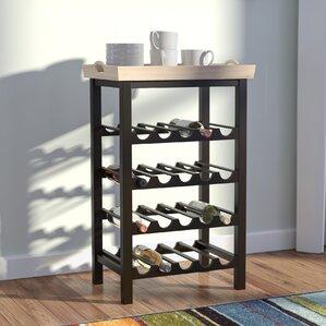 Eberhart 20 Bottle Floor Wine Rack by Red Barrel Studio