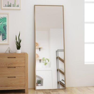 Gold Floor Mirrors You Ll Love In 2019 Wayfair