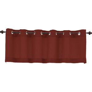 Orange Valances & Kitchen Curtains You\'ll Love | Wayfair