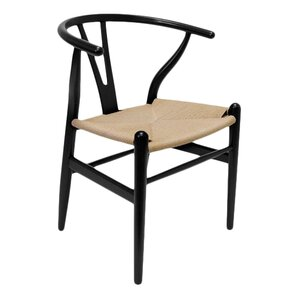 modern wooden chair. marcano wishbone solid wood dining chair set of 2 modern wooden