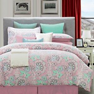 Flower 8 Piece Comforter Set