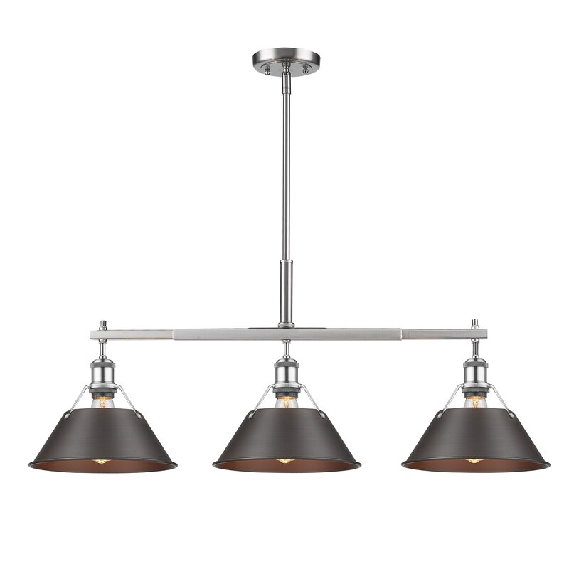 Trent Austin Design Weatherford Linear 3 Light Kitchen