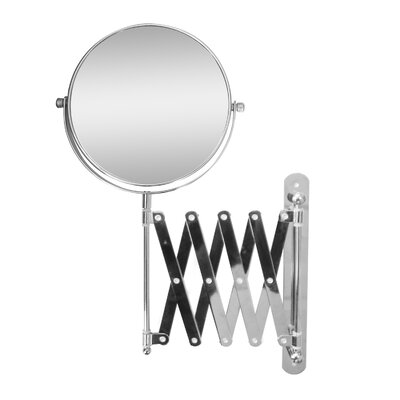 138 H X 2375 W Extendable Wall Mount Magnifying Makeup Mirror