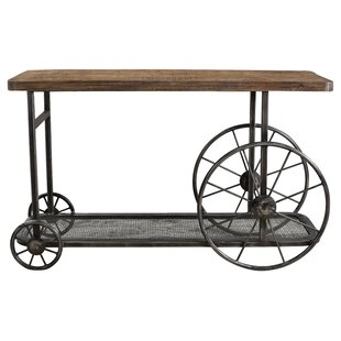 Hessler Wheel Console Table