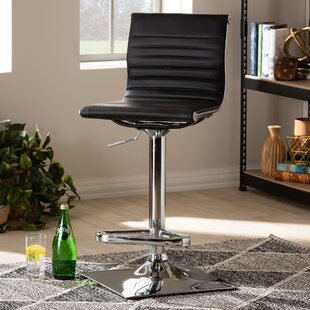 Kamden Adjustable Height Swivel Bar Stool