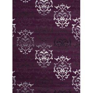 Perfect Fitchett Lilac/Plum Area Rug