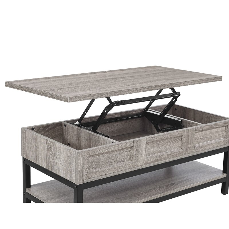 27 Eclectic Farmhouse Decor Family Rooms Coffee Tables 61: Laurel Foundry Modern Farmhouse Omar Lift Top Coffee Table