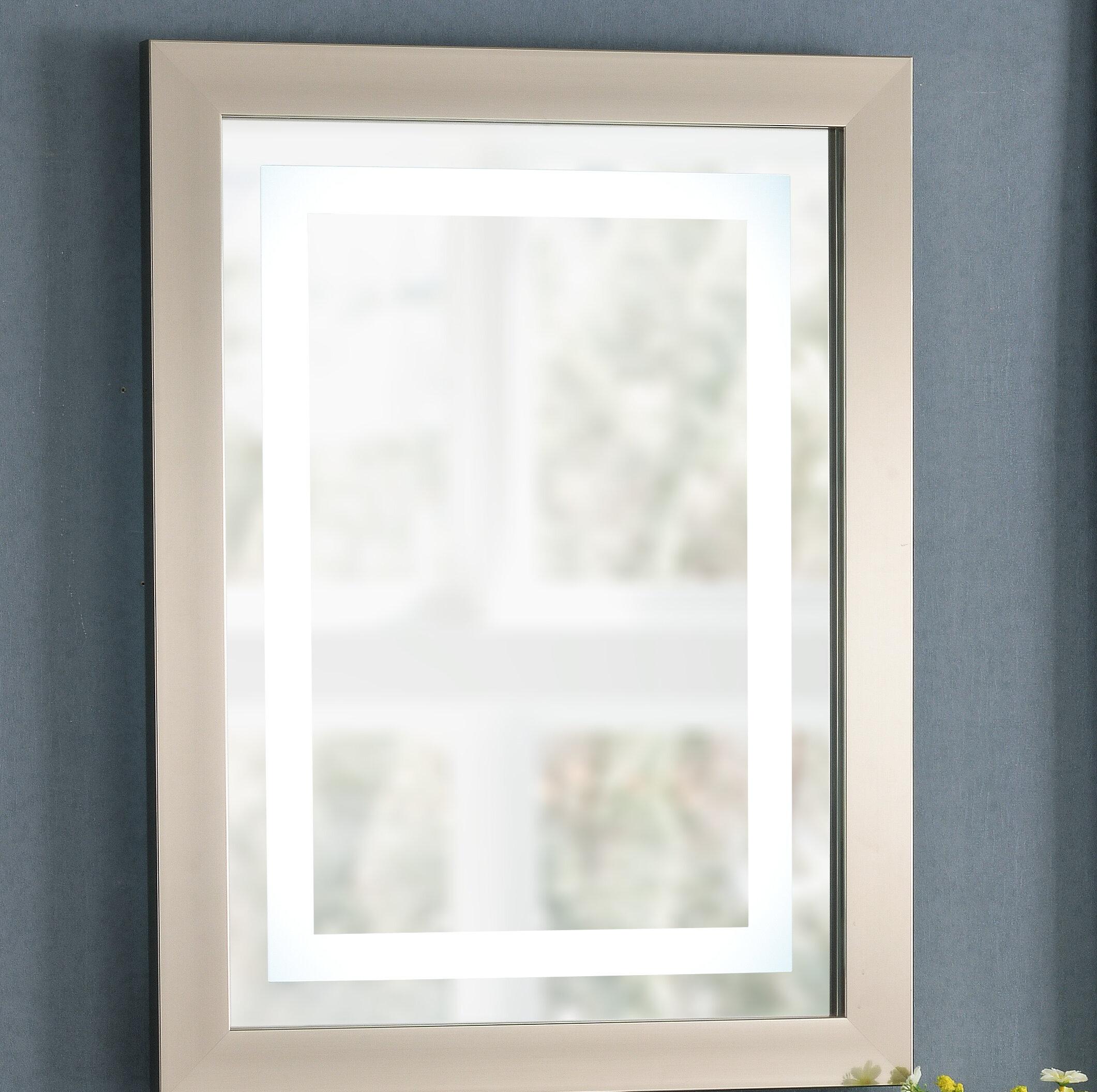 Latitude Run Mahon Framed Bathroom/Vanity Mirror | Wayfair